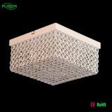 Zhongshan cuadrado LED lámpara de techo de cristal