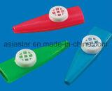 Mini 3D triangle Kazoo en plastique