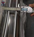 Une Balustrade en acier inoxydable 316L, tube de verre fendu de la main courante pour l'Europe sur le marché du tuyau de canal