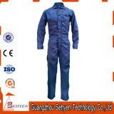 Coton de bleu marine de mode/combinaison personnalisés de travail sergé de polyester