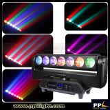 7X15W LED Träger-bewegliches Hauptlicht mit dem endlosen Drehen