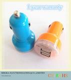 Цветастый подгонянный заряжатель автомобиля сотового телефона 2 двойной портов USB