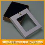 Neuer Entwurfs-Papier-Geschenk-Kasten mit Belüftung-Fenster