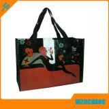 Promo Recycler le sac de shopping tissé en PP stratifié