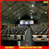 Großes gebogenes Beispieleuropäisches Art-Festzelt-Partei-Zelt 25m durch wasserdichtes Kabinendach 40