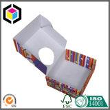 Caixa de empacotamento do cartão ondulado da parte inferior do fechamento do ruído elétrico