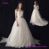 Платье венчания фабрики оптовое классицистическое Bridal с V-Шеей, -Плечом и a - линией типом