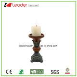 Figurine del supporto di candela della colonna di Polyresin per la casa ed il giardino Decoraiton