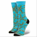 Оптовый носок хлопка Customed верхнего качества конструкции способа