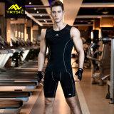 Insieme attivo di compressione del vestito degli abiti sportivi di estate di usura del Mens