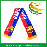 Sport Fan Soccer Football Echarpe en satin de soie