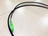 黒いIP65-67はPdlc Sc APCのファイバーパッチケーブルを防水する