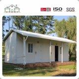 Casas pré-fabricadas da casa de campo de aço da luz do projeto da fábrica de China
