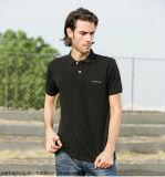 Camicia di polo di buona qualità 100%Cotton con il marchio su ordinazione