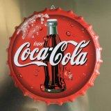 Tampa do vaso de cerveja de Metal Coca-Cola