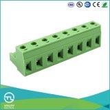 Blok Ma2.5/H7.62 van de Raad van PCB Custome van het Tussenvoegsel van de stop het Eind
