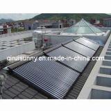 태양 Keymark를 가진 균열에 의하여 압력을 가하는 진공관 태양 온수기