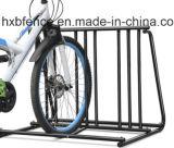 Fácil Instalación galvanizada / recubierta al aire libre aparcamiento cerrado Estante Estante de la bici