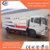 Dongfeng 쓰레기 콘테이너 트럭 진공 도로 스위퍼
