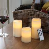 Белый цвет светодиодная свеча мини-светодиодный индикатор чая