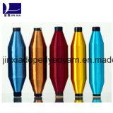 Ployester単繊維によって引かれるヤーン30d/1fのドープ塗料によって染められる多彩