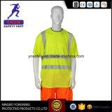 Leuchtstoff hohe Sicht-reflektierendes Sicherheits-Hemd für Brasilien En20471