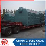 Caldaia a vapore infornata carbone della griglia della catena del Bi-Timpano di alta efficienza