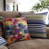 Impressão reativa Almofadas decorativas de algodão razoável Almofadas decorativas
