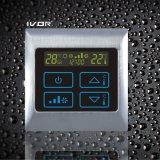 Thermostat-Noten-Schalter der Klimaanlagen-2-Pipe im Metallrahmen (SK-AC2000T-2P-N)
