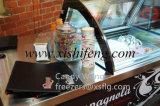B4 Chariot à la crème glacée à haute efficacité / Congélateurs de charcuterie Gelato