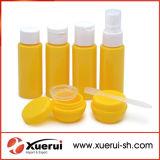 De plastic Kosmetische Reeksen van de Fles van de Reis voor het Gebruik van de Reis