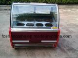Congelatori italiani della visualizzazione del Popsicle di Gelato del gelato (CE approvato)