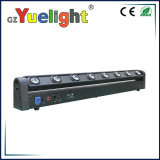 Indicatore luminoso capo mobile del fascio della striscia della discoteca 8PCS 8X12W RGBW LED della fase