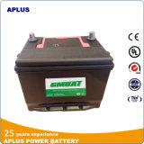 Baixo padrão das baterias acidificadas ao chumbo 75D23r 12V65ah JIS do Mf da manutenção