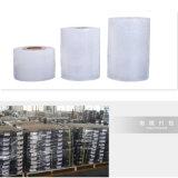 Handausdehnungs-Film-Verpackungs-Film-Tunnel-bohrwagenbandspule der Fabrik-direkte LLDPE blaue bunte