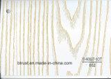 Folha de Art Deco de PVC de grãos de madeira para mobiliário/Gabinete/Porta laminado a quente/membrana de vácuo Pressione Bgl049-054