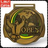 Higtの品質のカスタム金属のホッケーのスポーツメダル