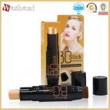 Washami 2 em 1 impermeável Long-Enduring Whitening Makeup Concealer com Foundation Brush