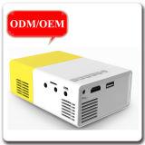 Pico móvel HD cheio vídeo do teatro Home de 600 lúmens fora do projetor do diodo emissor de luz das atividades com potência Adpter