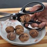 Schaar van de Keuken van het roestvrij staal de Multifunctionele met de het Scherpe Vlees en Vissen van de Dekking