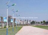 luz de rua solar do diodo emissor de luz de 6m Pólo 20W para a iluminação da área remota