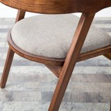 Présidence en bois de bâti de dos rond avec le tissu Seater (C720-13)