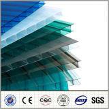 Feuille de cavité de PC givrée par feuille claire de polycarbonate de Jumeau-Mur