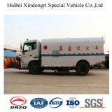 camion Euro4 di aspirazione della polvere dell'accumulazione residua di 7ton Dongfeng