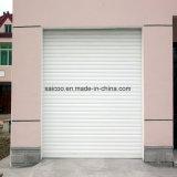 Rouleau de porte coulissant Bifold en aluminium de garage d'obturateur de roulement de constructeur de la Chine de nouveau produit