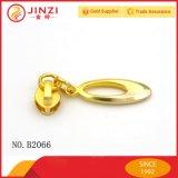Tenditore in lega di zinco lucido di piccola dimensione della chiusura lampo