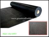 Strato di gomma antiscorrimento del reticolo della treccia, pavimentazione della stuoia del pavimento