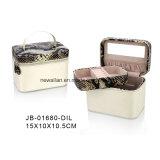 Случай/коробка Ювелирных Изделий Хранения Упаковки Подарка PU Люкс Европейской Конструкции Ручной Работы Кожаный