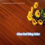 Pavimento di legno di /Okan della pavimentazione di legno duro di Iroko della pavimentazione di legno solido di Okan