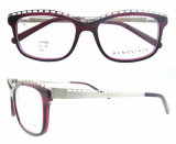Marcos redondos del marco de espectáculo de los vidrios ópticos de Eyewear de la manera